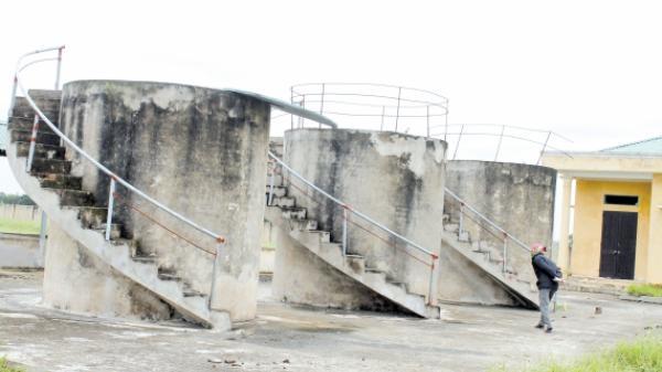 Vũ Thư - Thái Bình: Lò đốt rác tiền tỷ bị bỏ hoang