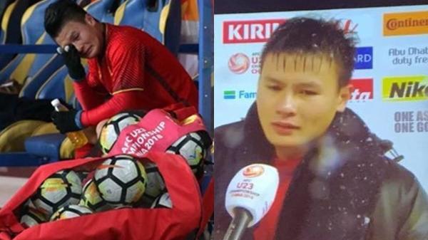 Không kìm được nước mắt trước hình ảnh Quang Hải rơi lệ, quá tiếc nuối cho một trận đấu tuyệt vời!