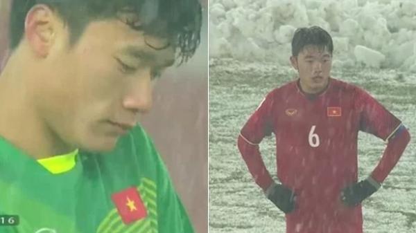 Thua ở phút 119, loạt cầu thủ khóc òa ngay trên sân đấu, xem đến ảnh Quang Hải mà thương xé ruột gan