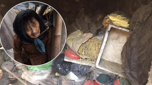 Phận đời cô quạnh của cụ bà ở Thái Bình hơn 10 năm tự nhốt mình giữa rơm cỏ vì con trai mắc ung thư qua đời