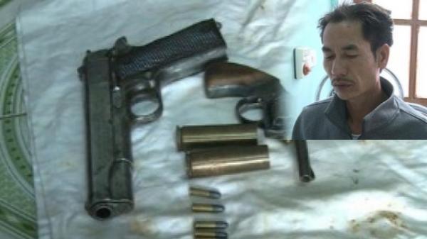Thái Bình: Bắt đối tượng tàng trữ, mua bán trái phép chất ma túy và vũ khí quân dụng