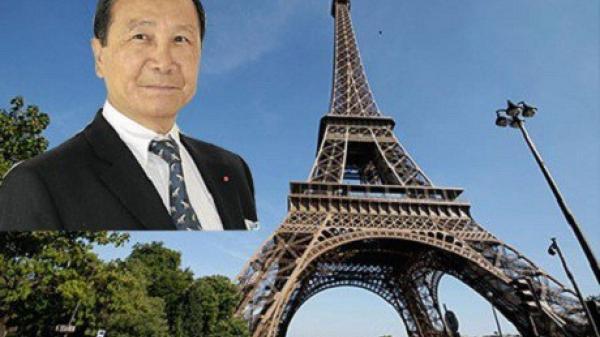Đại gia gốc Thái Bình định mua cả tháp Eiffel, đến nhà giàu thế giới cũng chào thua