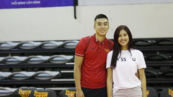 Nguyễn Thị Loan - người đẹp Thái Bình thừa nhận hẹn hò ngôi sao bóng rổ Việt Nam