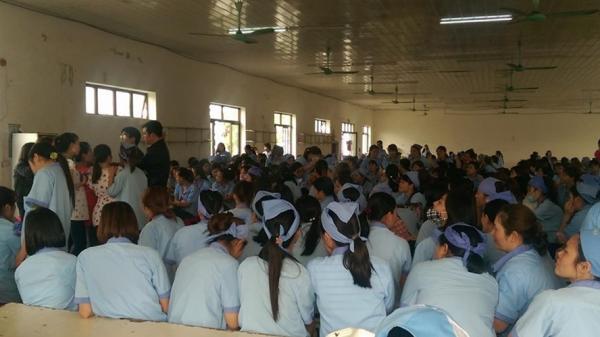 Thái Bình: Chưa chấp nhận nội dung thỏa thuận, 500 công nhân tiếp tục ngừng việc