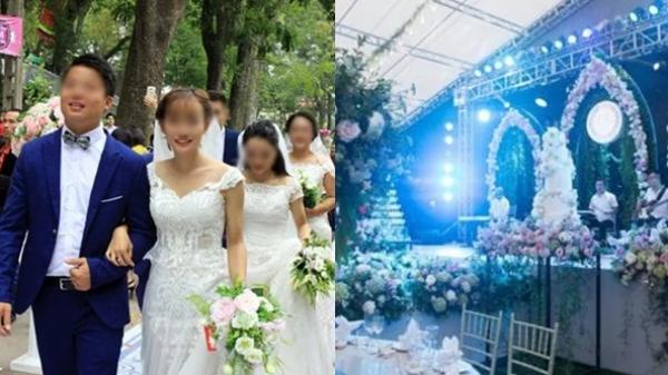 Cán bộ tổ chức đám cưới vượt chuẩn: 'Tôn trọng nhà trai'