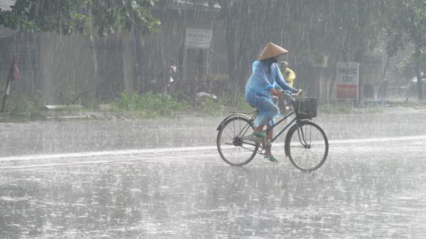 Bắc Bộ xuất hiện mưa trên diện rộng hết ngày 11/7