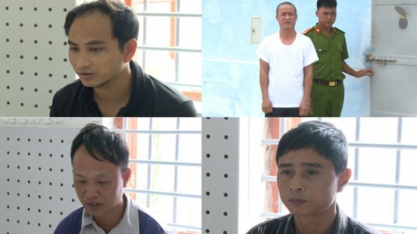 Thái Bình: Bắt 4 đối tượng chuyên trộm cắp đồ thờ cúng