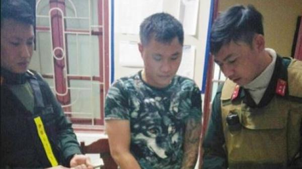 """Thanh Hoá: Bắt đối tượng mua ma túy trị giá 18 triệu đồng đi """"chúc mừng"""" sinh nhật bạn"""