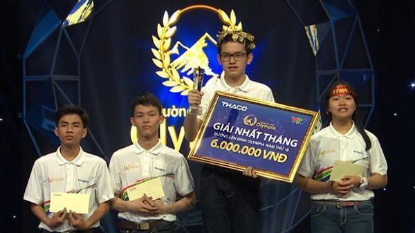 Chàng trai Quảng Ninh - người lập kỷ lục 18 năm Olympia vòng khởi động 'nghẹt thở' đoạt vòng nguyệt quế tháng