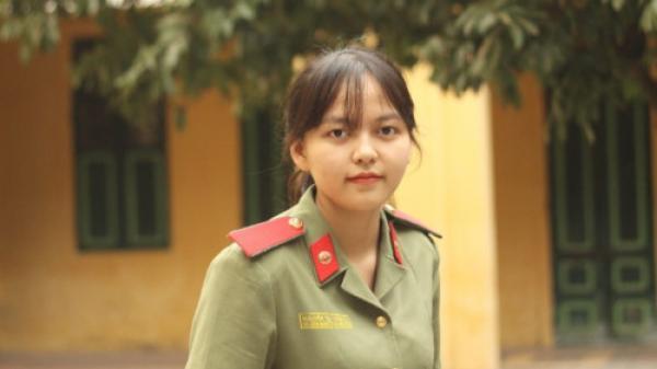Nữ sinh quê Cao Bằng xuât sắc thi đậu học viện An ninh Nhân dân và kỉ niệm trúng tuyển ngọt ngào