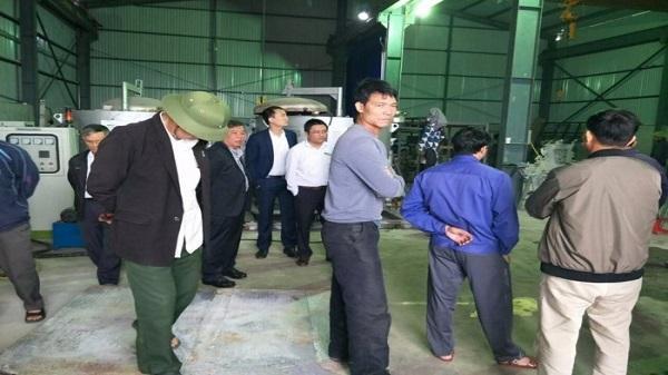 Giao Thủy, Nam Định: Đình chỉ hoạt động Cty nấu đúc Nhôm, Đồng gây ô nhiễm khiến người dân bức xúc