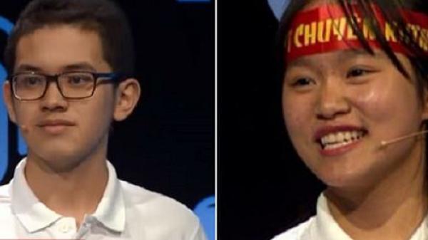 Màn đấu gay cấn giữa kỷ lục gia Olympia quê Quảng Ninh và nữ sinh thông minh khiến khán giả phải tâm phục khẩu phục