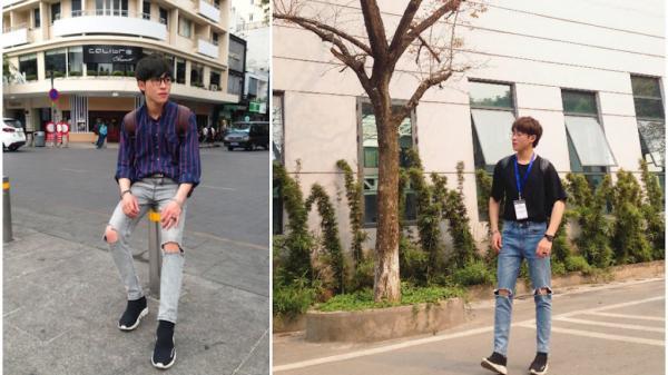 """Tan chảy trước ngoại hình long lanh của anh chàng """"hot boy Trà Sữa"""" quê Quảng Ninh"""