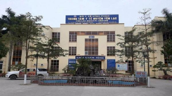 Vĩnh phúc: Trung tâm Y tế Yên Lạc xây dựng ki ốt cho thuê trái phép