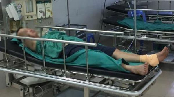 Lộ nguyên nhân bất thường khiến phụ xe chạy tuyến Cẩm Phả - Nam Định bị cắt gân chân khi đón khách