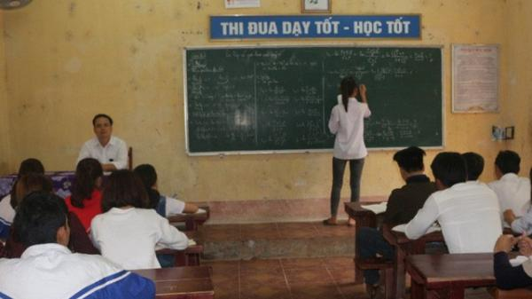 Thanh Hóa: Bố trí 1.600 phòng thi, hơn 3.300 cán bộ coi thi THPT Quốc gia