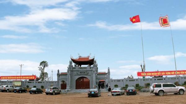 Đền A Sào địa danh hào hùng vùng đất Quỳnh Phụ