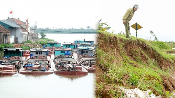 Thái Bình: Nhức nhối nạn khai thác cát