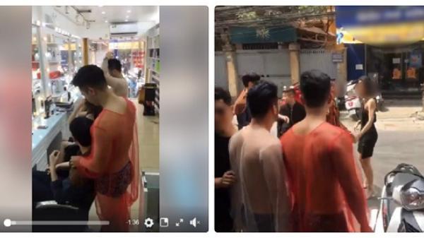 Dân mạng 'dậy sóng' với clip đánh ghen bị nghi dàn dựng để quảng cáo cho salon tóc toàn trai đẹp mặc phản cảm