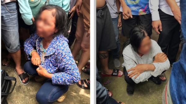 Nghi bắt cóc trẻ em, 2 người phụ nữ bị người dân lao vào đánh đập