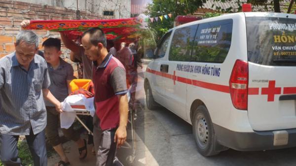 Đẫm nước mắt đưa thi thể lái tàu SE19 về quê nhà ở Thái Bình