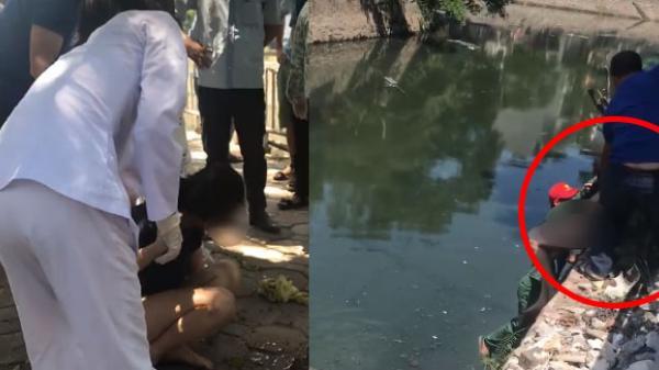 Nữ dược sĩ 9X quê Thái Bình nhảy sông tự tử, nhiều người lao xuống cứu