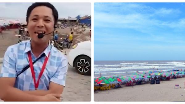 Chàng trai quê lúa Thái Bình giới thiệu biển Cồn Vành bằng thơ gây xôn xao cộng đồng mạng