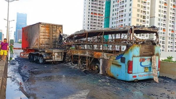 """Nằm trên trường bệnh sau vụ tai nạn THẢM THIẾT """"5 người thương vong"""", nạn nhân quê Thái Bình BÀNG HOÀNG kể lại"""