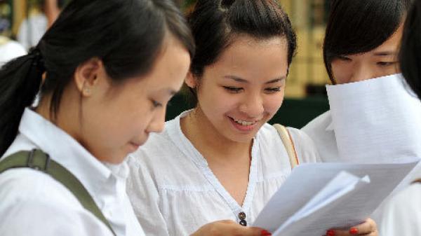 NÓNG: Thái Bình có 11 bài thi đạt điểm 10 trong kỳ thi THPT quốc gia năm 2018