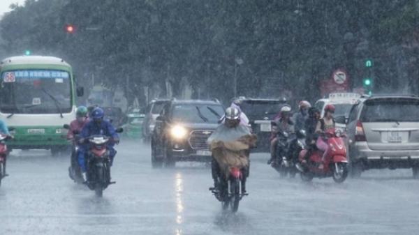 Dự báo thời tiết (13/07): CẢNH BÁO mưa lớn trên diện rộng tại Thái Bình