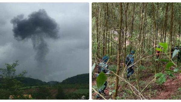 Xác định danh tính phi công Thái Bình tử nạn vụ máy bay quân sự rơi, người thân đang ngóng đợi con về đất mẹ