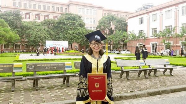 Cô gái thủ khoa Đại học Thủy lợi quê Thái Bình được giữ làm giảng viên