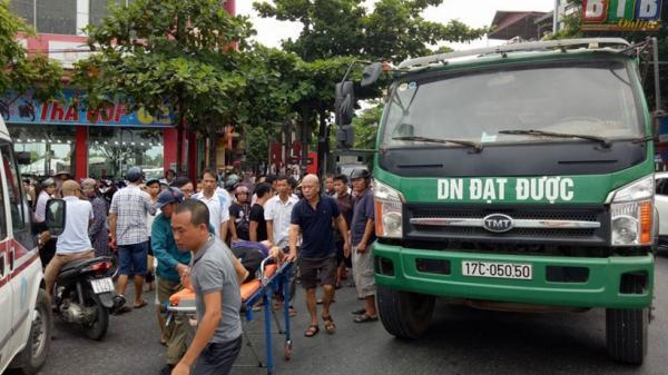 Thái Bình: Tai nạn giao thông giữa xe ô tô tải và người điều khiển xe đạp
