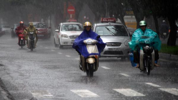 Thời tiết ngày 16/8: Mưa lớn trên diện rộng ở Bắc bộ