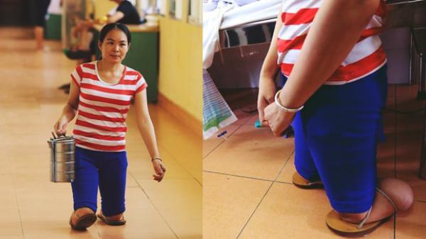 Câu chuyện về người phụ nữ cụt 2 chân chăm chồng liệt nửa người suốt 5 năm