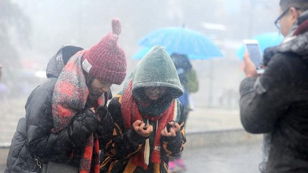 """Đầu tuần tới lạnh """"chồng"""" lạnh, nhiệt độ miền Bắc tiếp tục giảm sâu"""