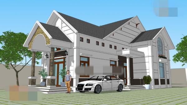 10 mẫu nhà 1,5 tầng thiết kế trang nhã,  phù hợp với các gia đình trẻ được ưa chuộng bậc nhất hiện nay