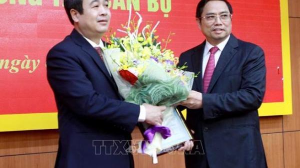 Công bố quyết định đồng chí Ngô Đông Hải giữ chức Phó Bí thư Thường trực Tỉnh ủy Thái Bình
