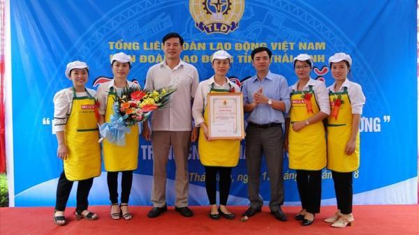 Thái Bình: LĐLĐ huyện Đông Hưng đoạt giải nhất hội thi nấu bữa cơm gia đình