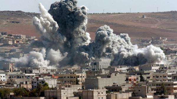 [ẢNH] Mỹ lại sử dụng loại vũ khí nguy hiểm chỉ sau bom nguyên tử tại Syria?