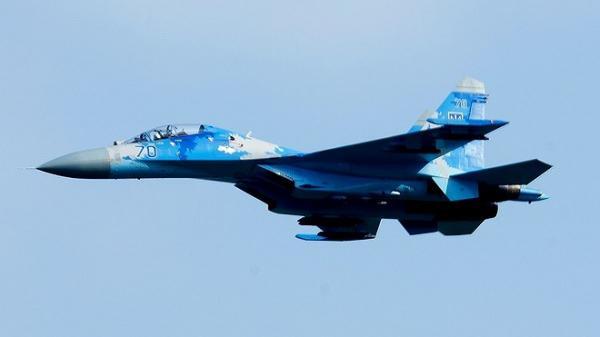"""[ẢNH] """"Nỗi đau nhân đôi"""" của không quân Ukraine sau vụ rơi tiêm kích Su-27"""