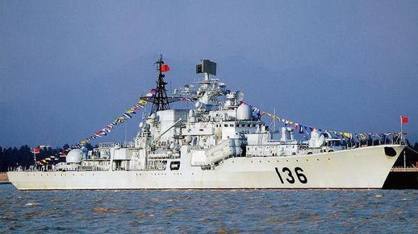 """[ẢNH] Khu trục hạm Sovremenny của Trung Quốc """"tái ngũ"""" với năng lực đầy nguy hiểm"""