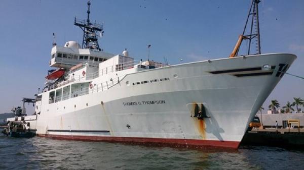 """Trung Quốc """"sôi máu"""" vì tàu hải quân Mỹ cập cảng Đài Loan tới 4 ngày"""