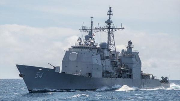 """Tàu chiến Mỹ qua eo biển Đài Loan """"khủng"""" cỡ nào khiến Trung Quốc án binh bất động?"""