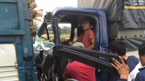 Thái Nguyên: TNGT hy hữu, một tài xế ng uy kịch vì 2 lần liên tiếp bị ô tô đ âm
