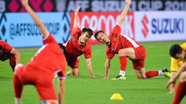 Đội tuyển Việt Nam đón tin cực vui trước trận đấu cuối cùng vòng bảng với Campuchia