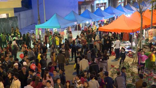 Thái Bình: Nhộn nhịp chợ đêm Petro Thăng Long