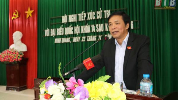 Thái Bình: Tiếp xúc cử tri sau kỳ họp thứ sáu, Quốc hội khóa XIV