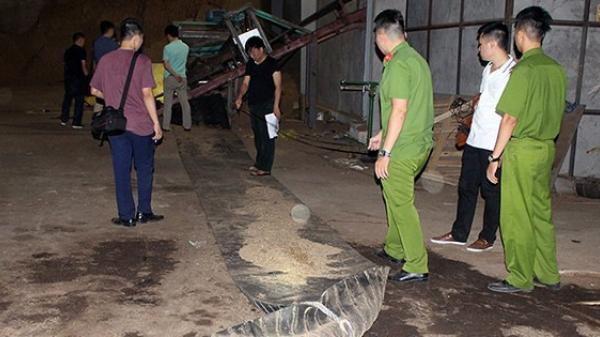 Kinh hoàng: Nam công nhân ch ết bất thường, đầu bị mó p, đ ứt cánh tay