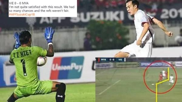 """Bàn thắng bị """"c.ướp"""" của Văn Toàn, thầy Park từ chối bắt tay HLV Myanmar lọt top 5 tình huống gây tranh cãi ở vòng bảng AFF Cup 2018"""